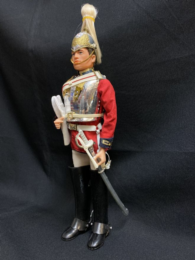 ACTION MAN - VINTAGE ACTION MAN - LIFE GUARD with Breast Plate Armour (ref3)